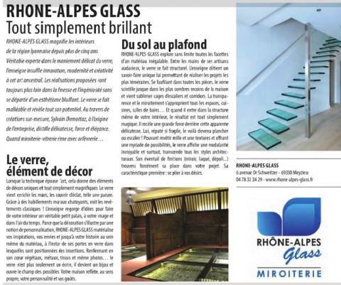 Rhone-Alpes Glass, tout simplement brillant