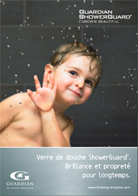 Rhone-Alpes Glass Actualité Brochure Showerguard