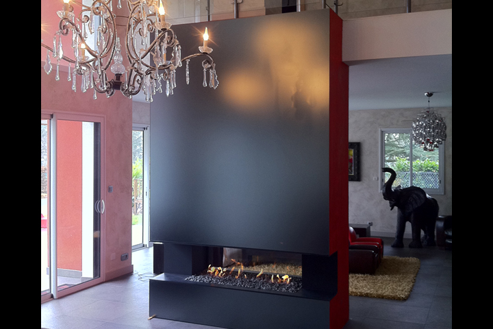 Rhône-alpes Glass vitrerie et miroiterie aménagements intérieurs Habillage mural